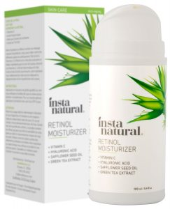 InstaNatural Retinol Moisturizer Anti Aging Face Cream