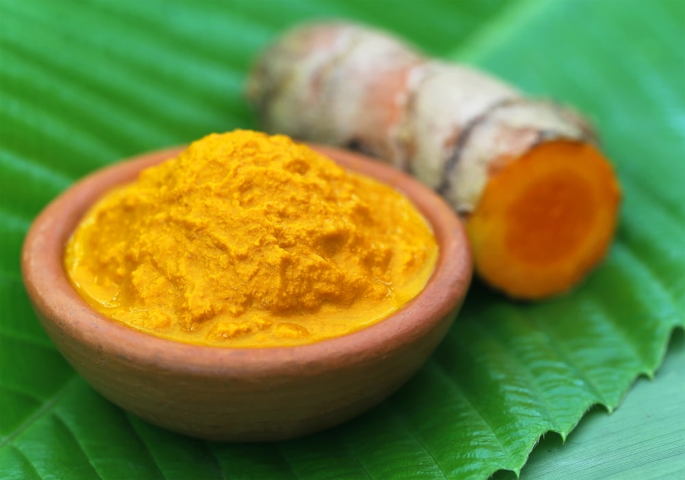 Turmeric has many skin benefits which most people don't know.Turmeric slows down-sell damage as its high in antioxidants. It improves skin texture and also helps to reduce pigmentation and even out the skin tone.